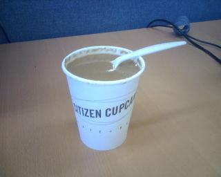 Sopa de Tomate do Citizen Cupcake