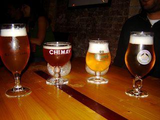 Cervejas belgas no La Trappe