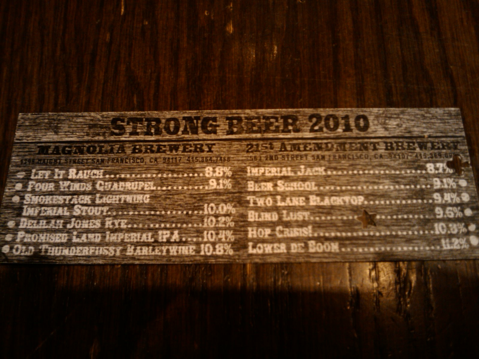 Strong Beer!